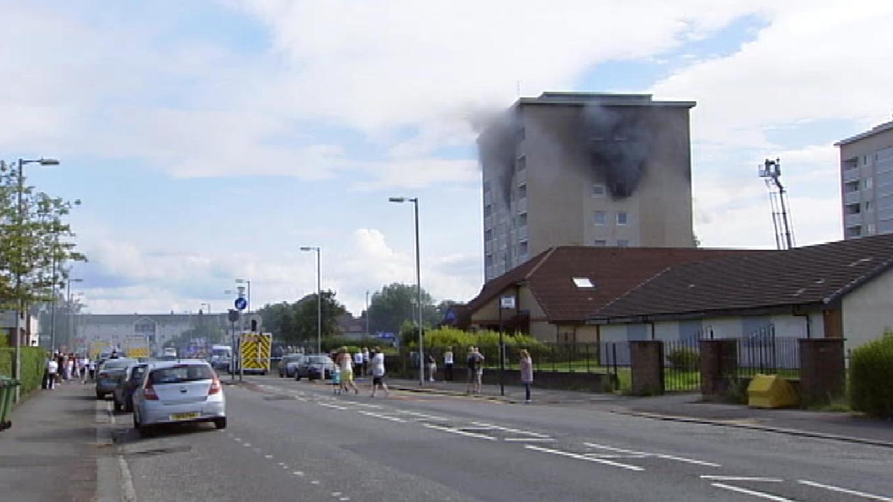 Scottish Ambulance Service Building Glasgow
