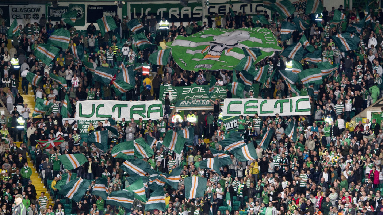 green brigade section at celtic park to reopen  club announces