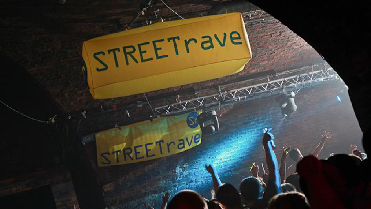 Danny rampling heads to the arches for the streetrave acid for Acid house party