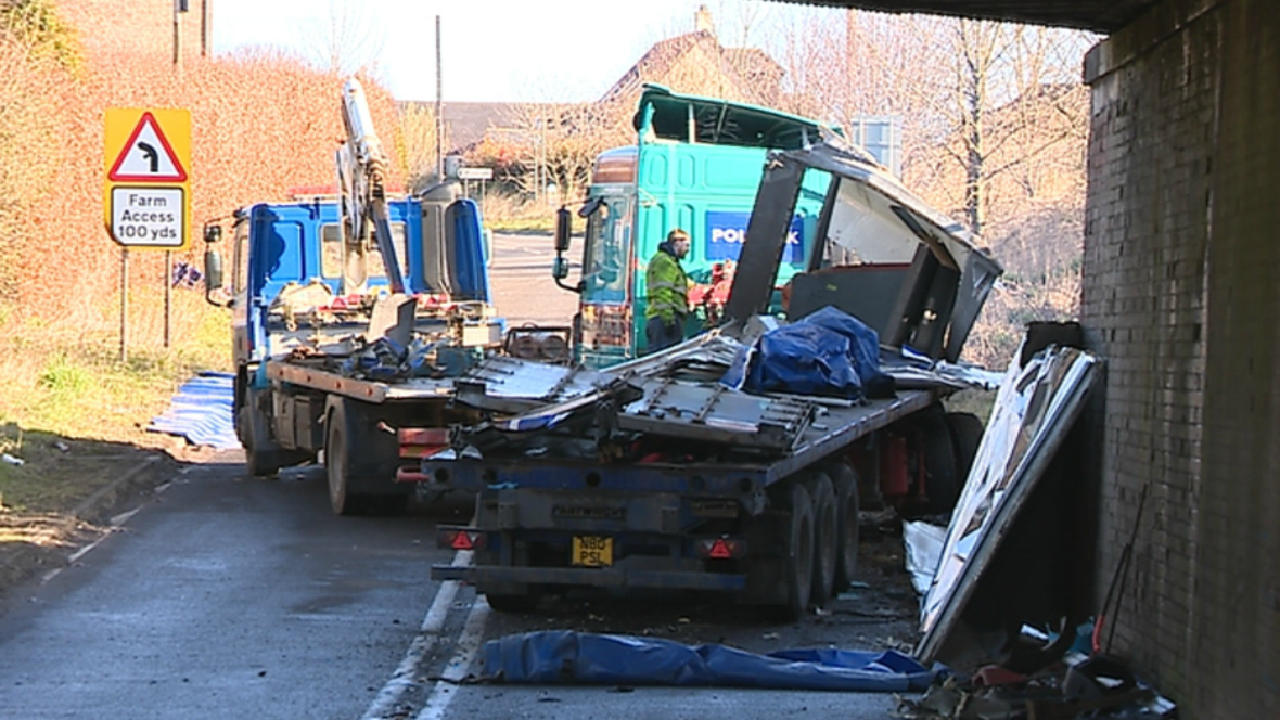 Man Lost Arm After Lorry Driver Smashed Into Low Bridge