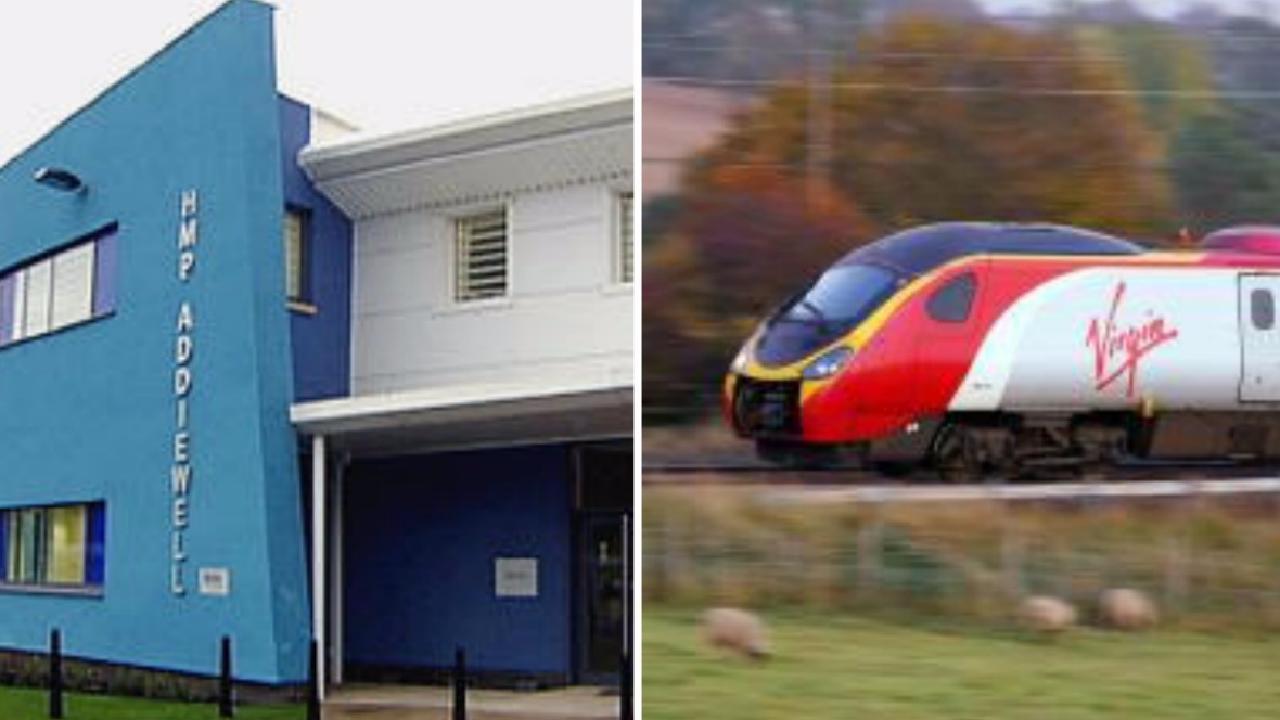 Virgin Trains to recruit prisoners from Scottish jails