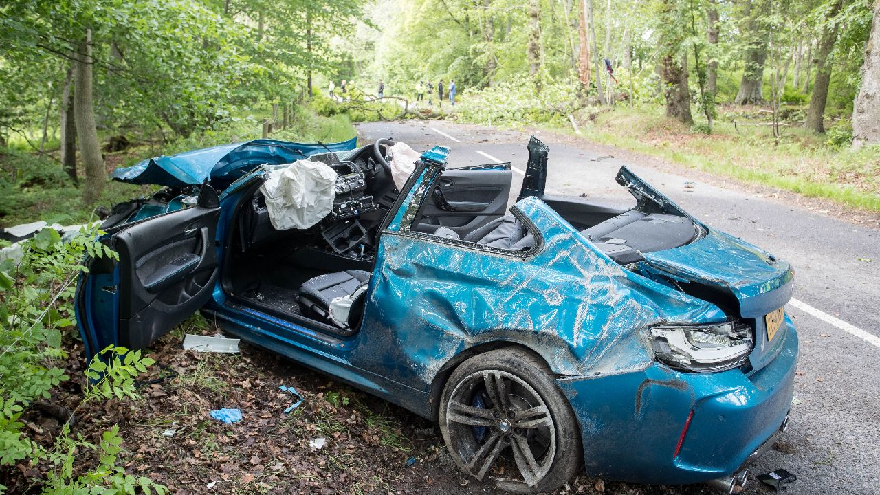 Bmw M2 Competition Accident In Germany Claiming The Driver S Life