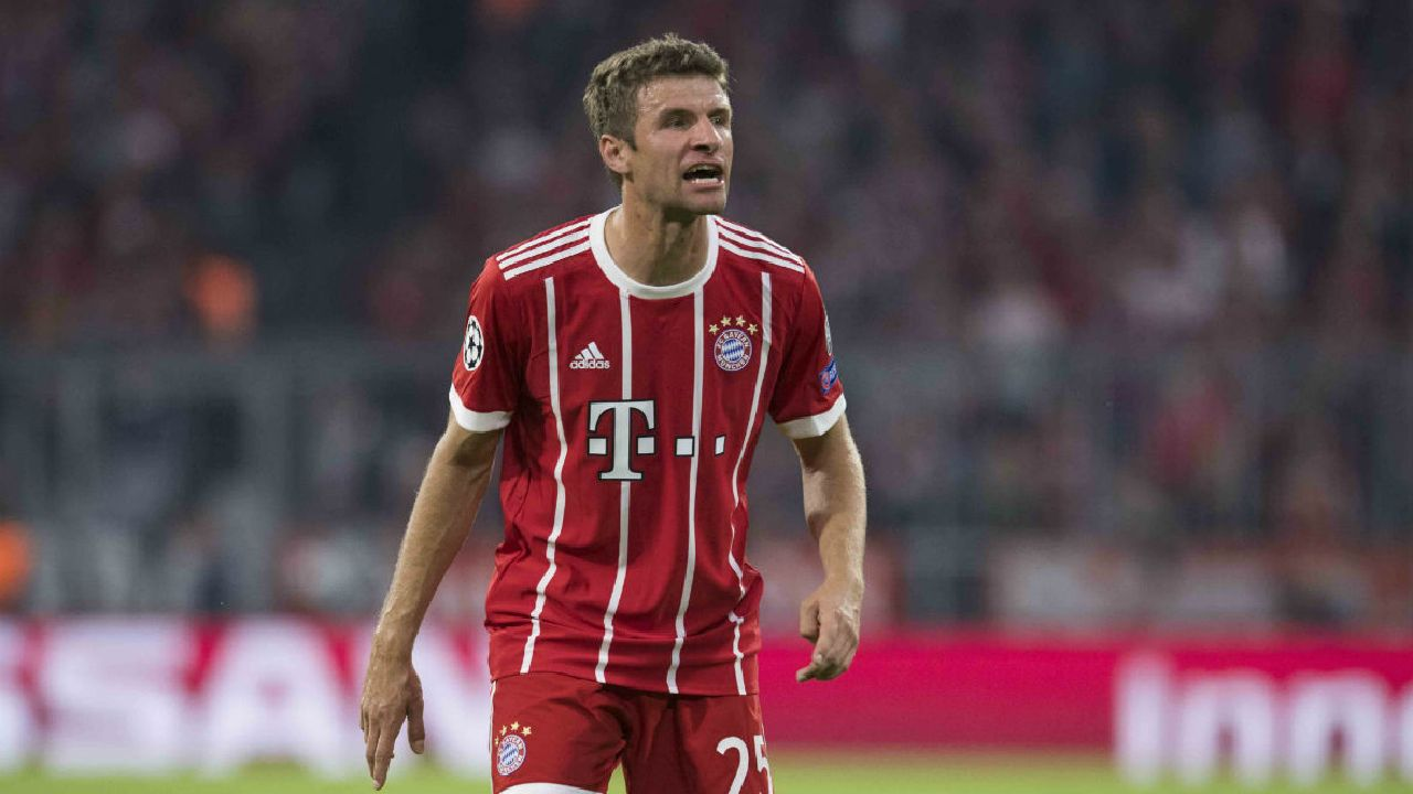 Thomas Muller ruled out of Champions League tie with Celtic