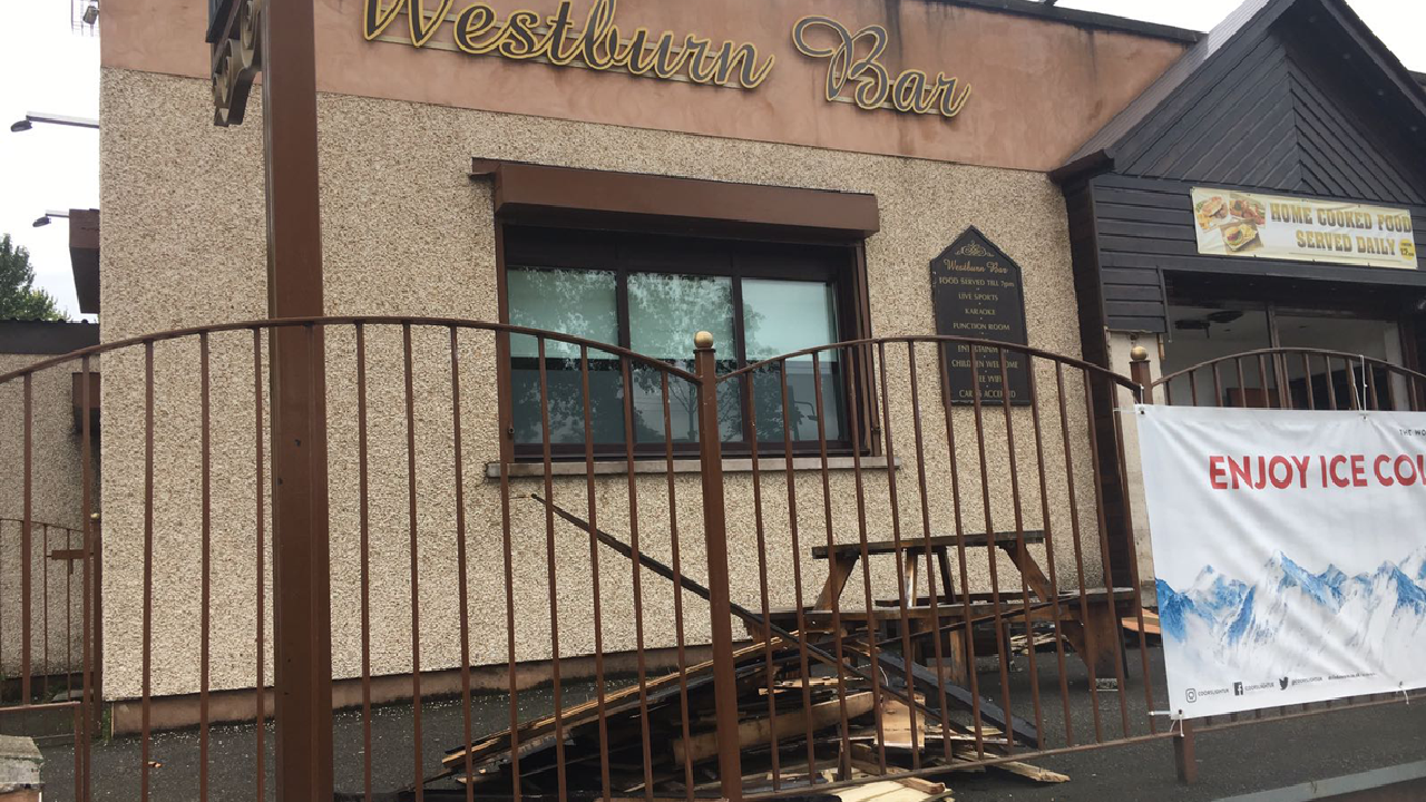 Hunt For Two Men After Bar Deliberately Set On Fire
