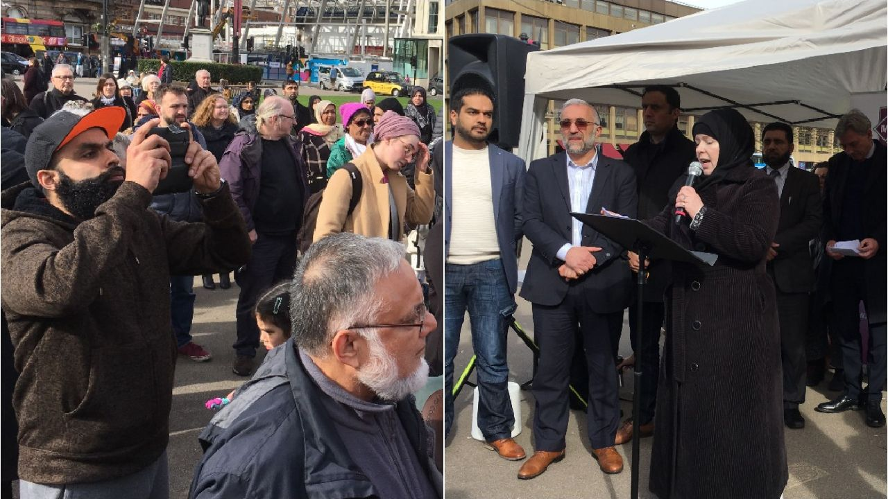 Scots gather for vigil after New Zealand terrorist attack