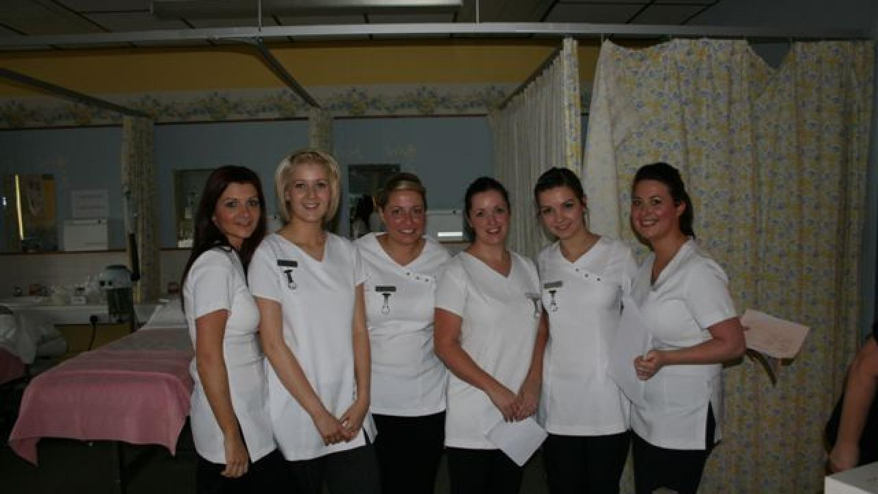 Unique beauty treatment comes to coatbridge for Aberdeen college beauty salon