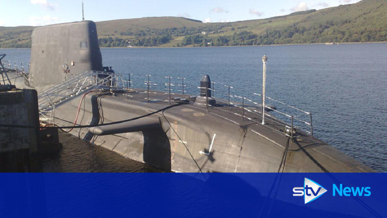 Nuclear submarine in near-miss with ferry on Irish sea
