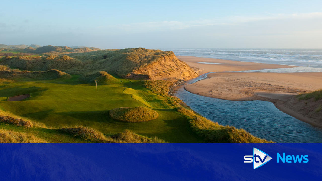 Donald Trump's golf course completed in Aberdeenshire