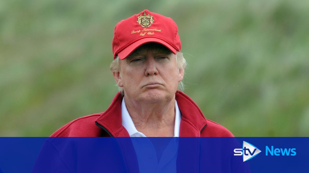 portrait-of-donald-trump-at-the-menie-estate-trump-international-golf ...