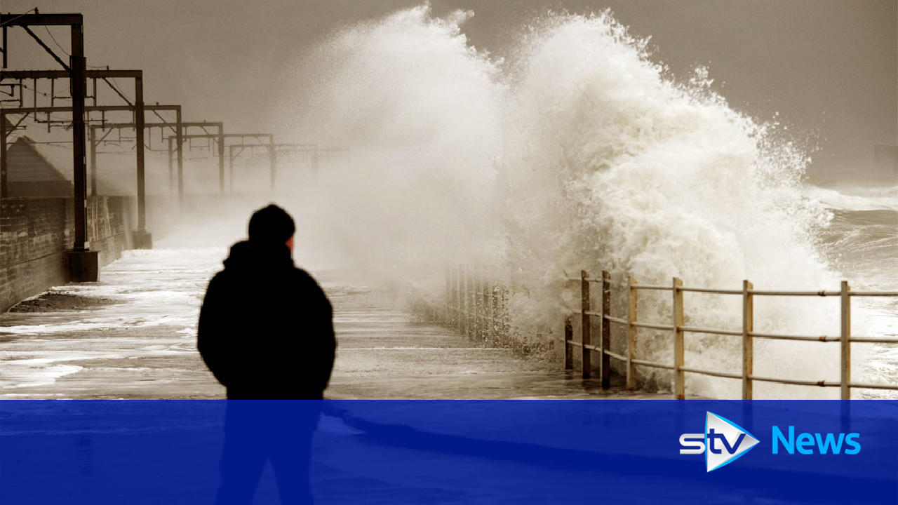 storm barbara brings second day of wind and rain to scotland