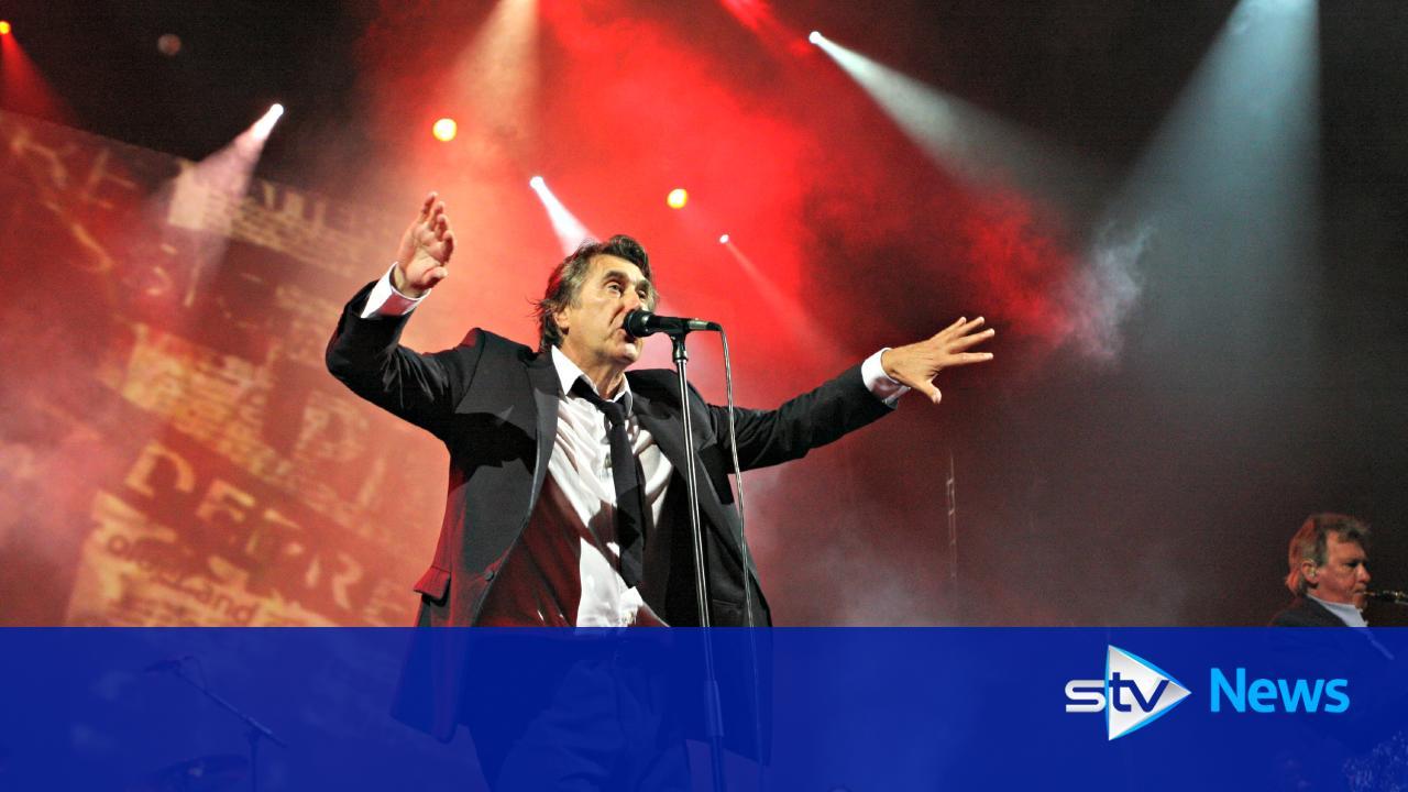 Music legend Bryan Ferry announces Glasgow stop on UK tour - STV News