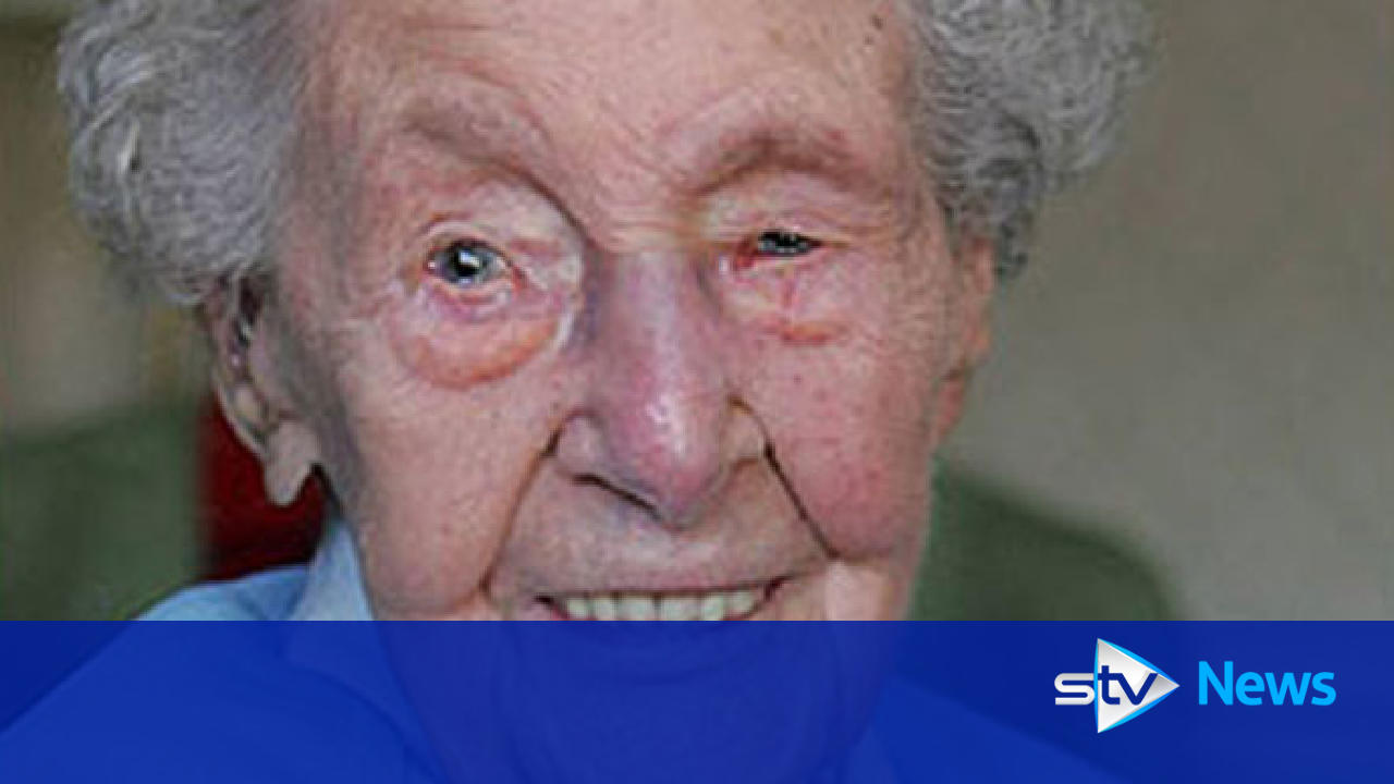 Oldest person in Britain dies near Edinburgh aged 111