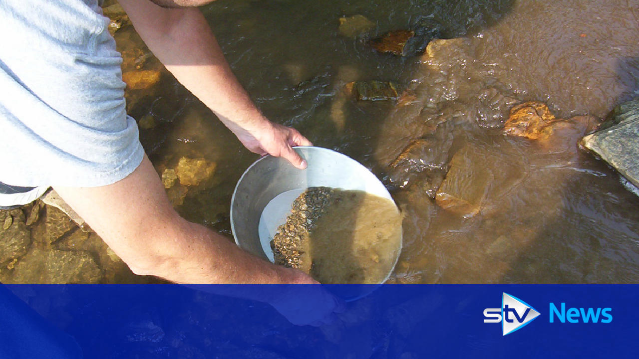 police crackdown on gold panning at tyndrum hills in stirlingshire