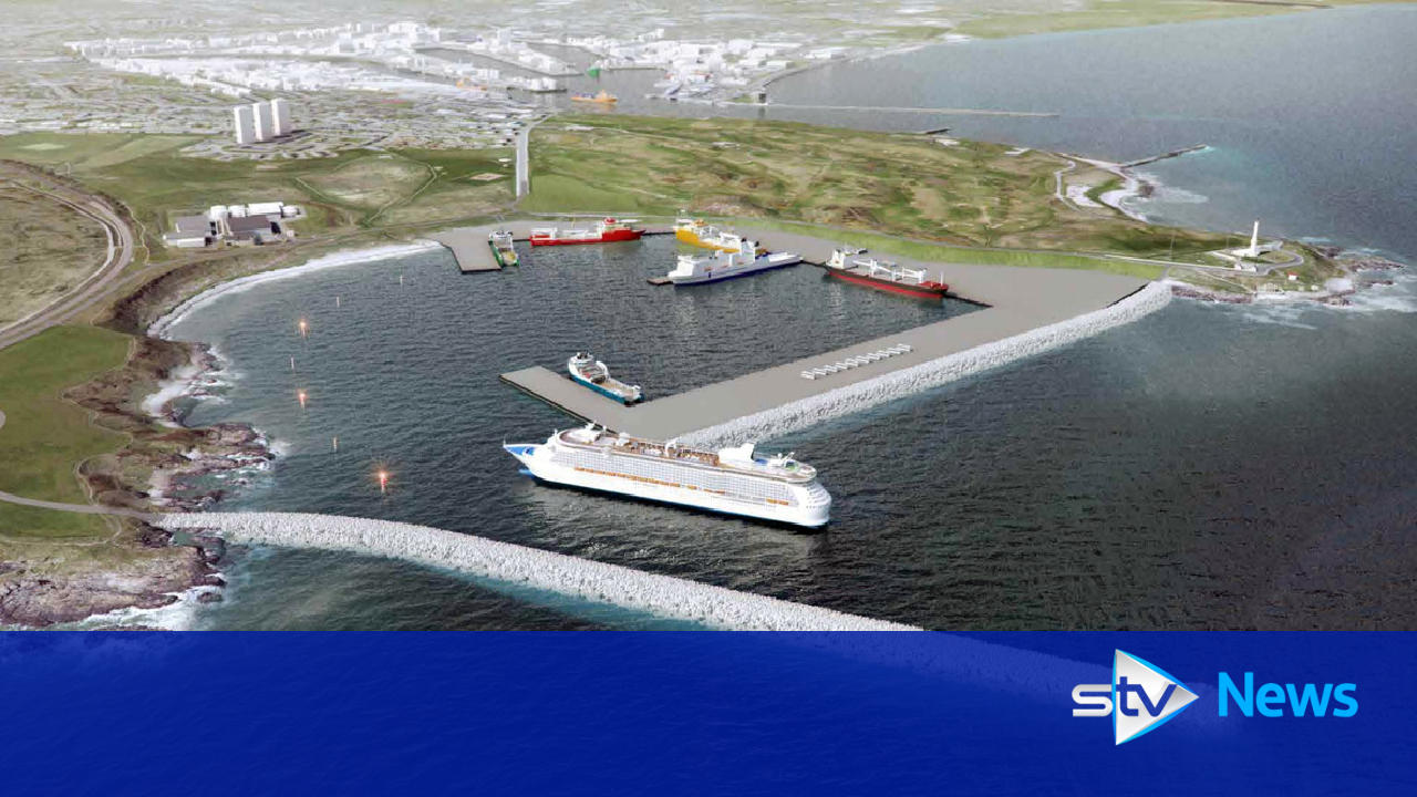 New Images Of Aberdeen Harbour Cruise Ship Expansion At