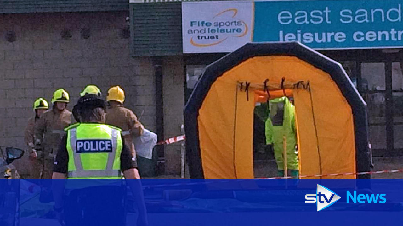 East sands leisure centre in st andrews evacuated after - Dundee swimming pool opening times ...