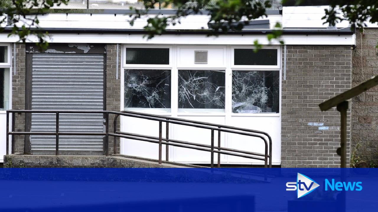 vandals cause  u00a3100 000 worth of damage at primary school