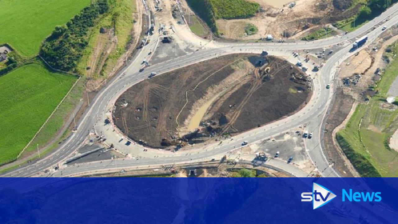 first section of new aberdeen city bypass opens to traffic