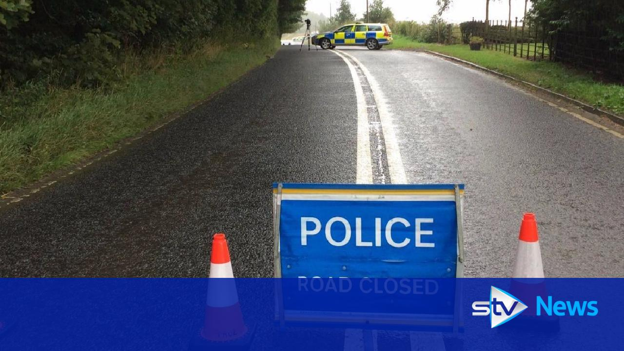 Two killed in collision between motorbike and car