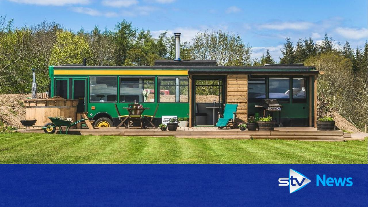Vintage Buses Transformed Into Holiday Homes Become Hit On