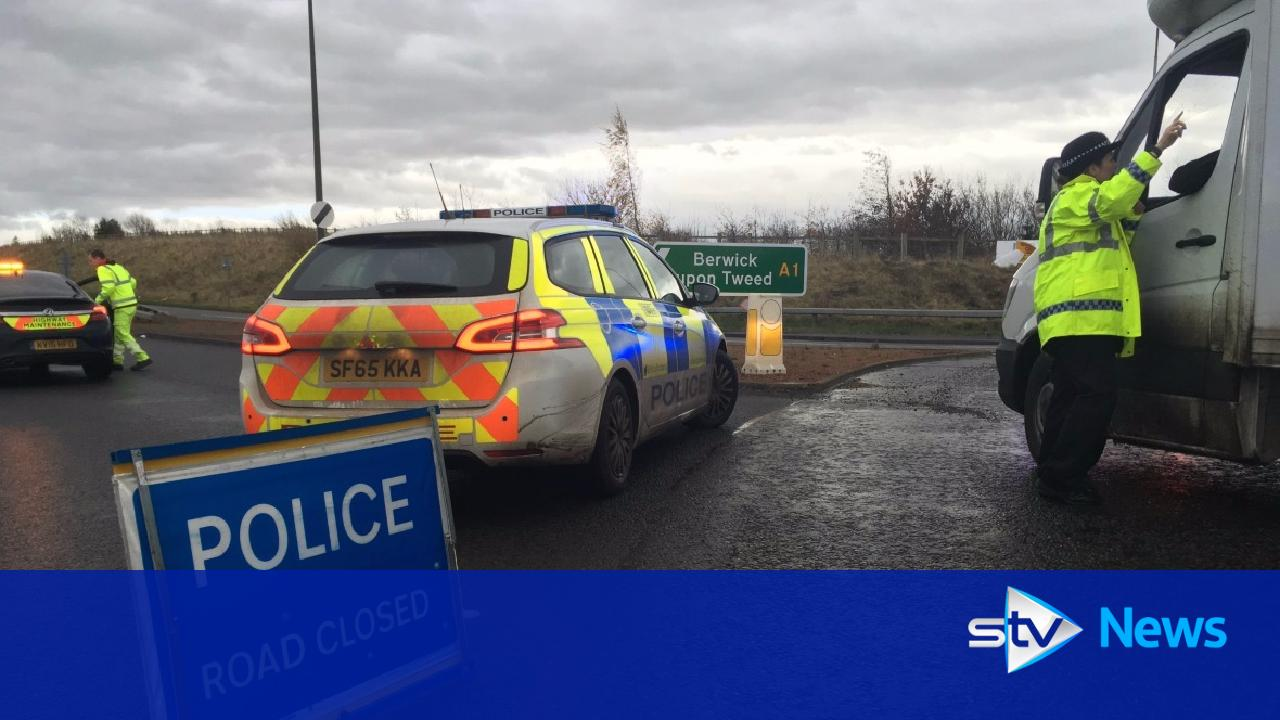 police confirm one dead after collision on a1