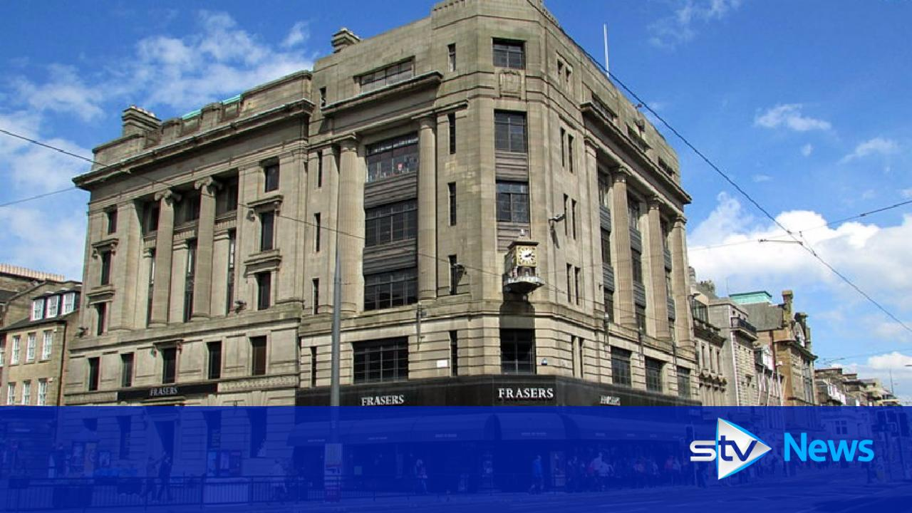 House of fraser worker found dead in princes street store for Housse of fraser