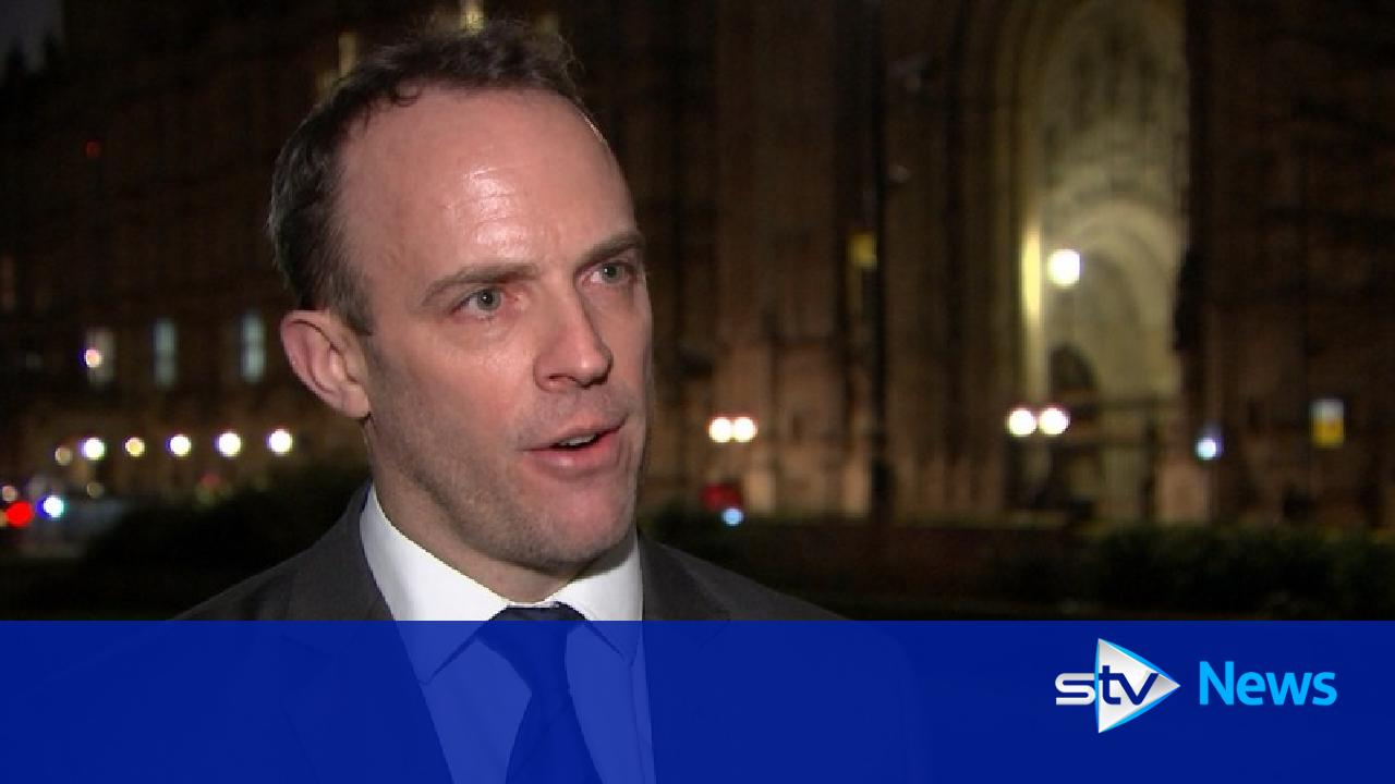 Dominic Raab resigns as Brexit secretary over deal