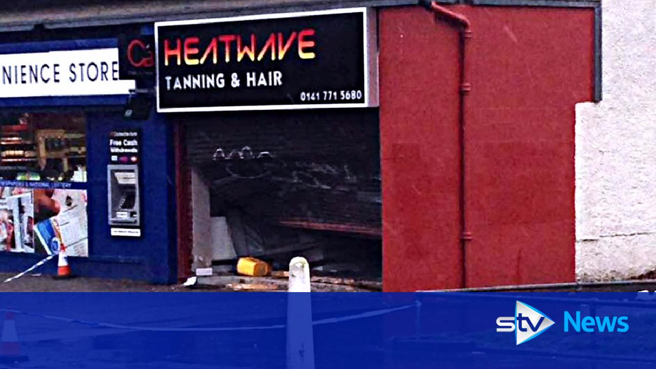 Pickup truck rammed into tanning salon in targeted attack for Aberdeen tanning salon