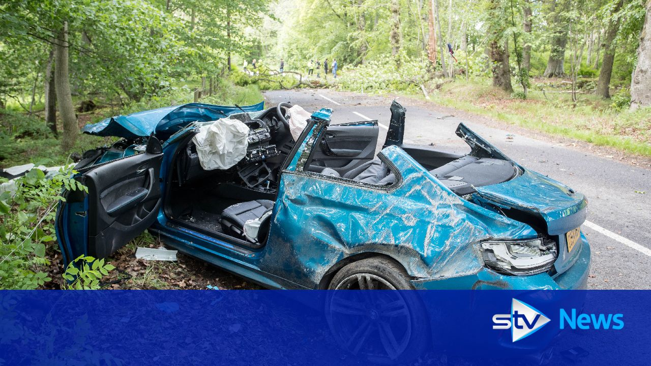 Two People Cut From Car After Serious Road Accident