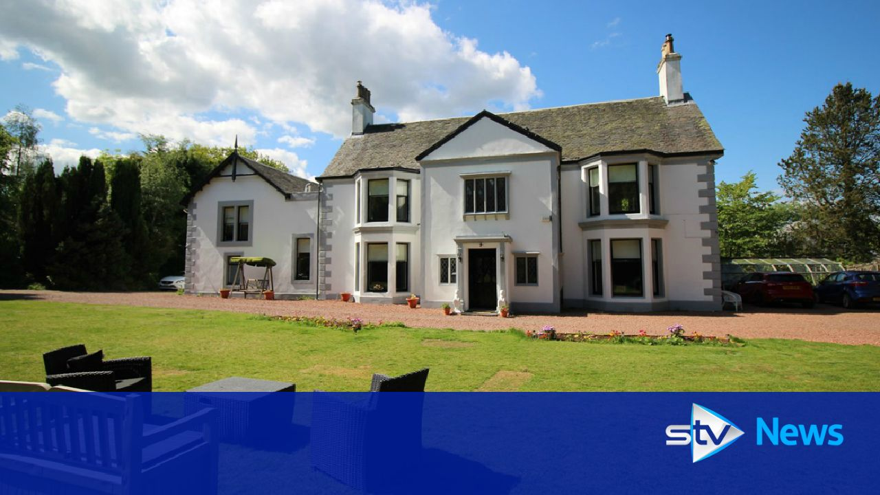 Mansion worth 625 000 to be sold in 5 a ticket raffle - House with swimming pool for sale scotland ...