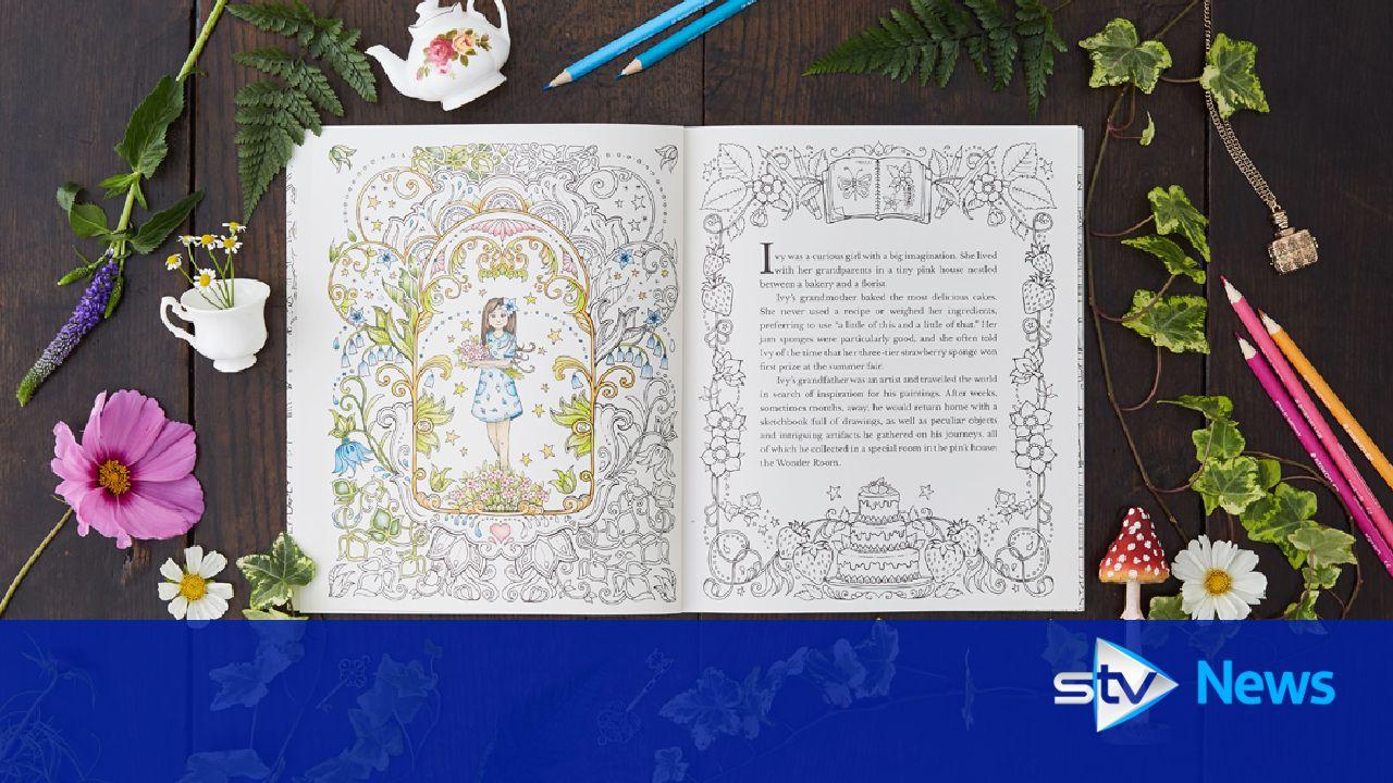 Illustrator Transforms Bedtime Stories Into Inky Adventures