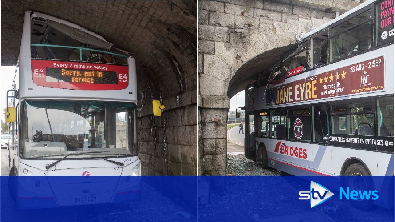 Bus Smashes Into Bridge Causing Major Rush Hour Delays