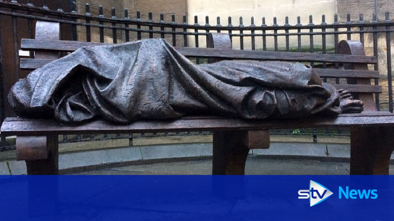 Homeless Jesus Sculpture Costing 25 000 Unveiled