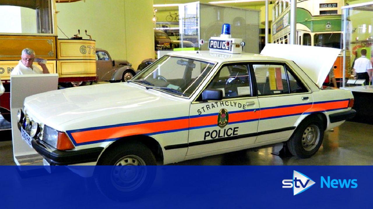 Old Bill Police Scotland Still Using Cop Car From 1989