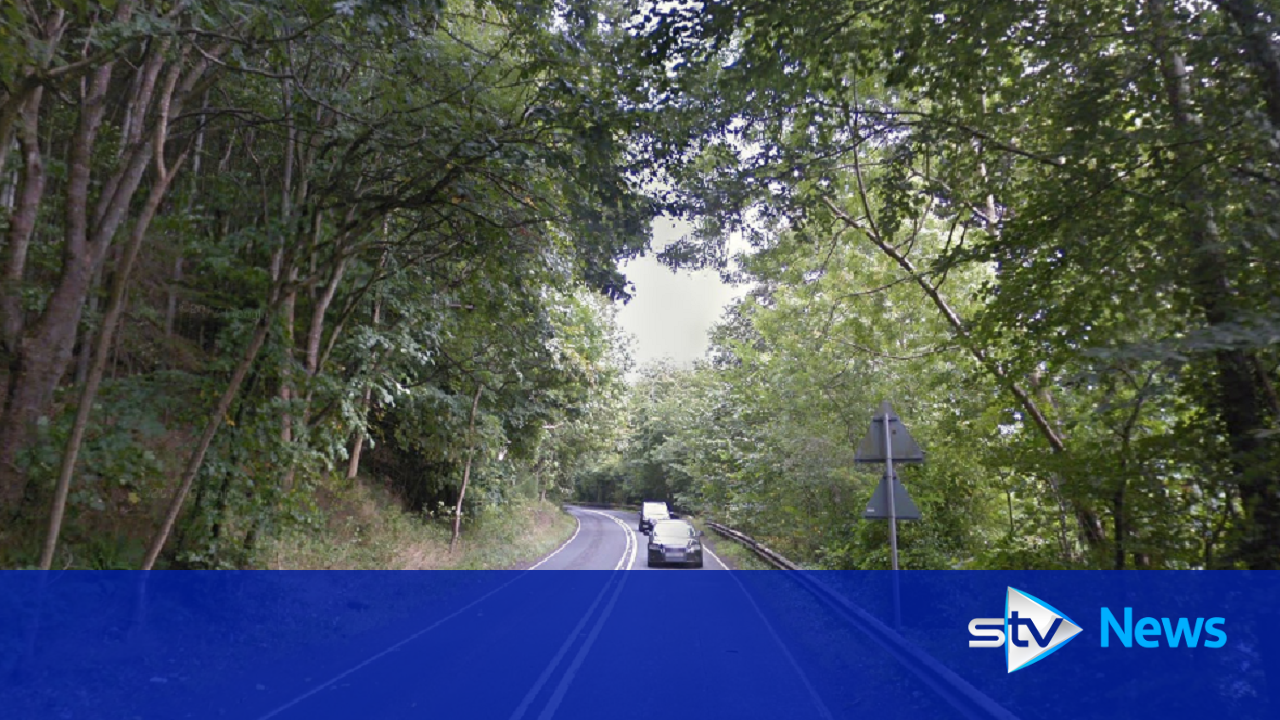 motorcyclist dies after coming off the road in a7 crash