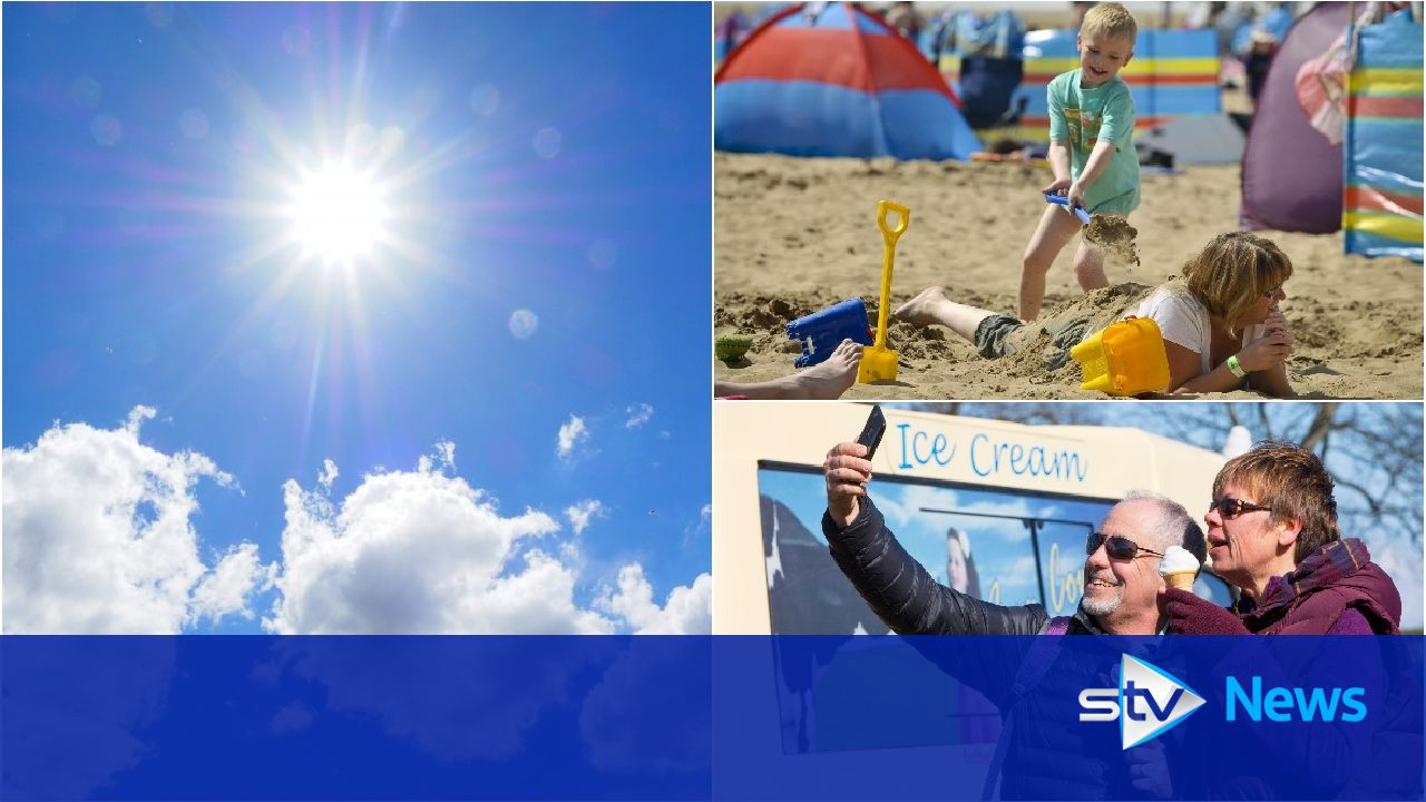 Scotland has warmest ever Easter Sunday as temperatures soar