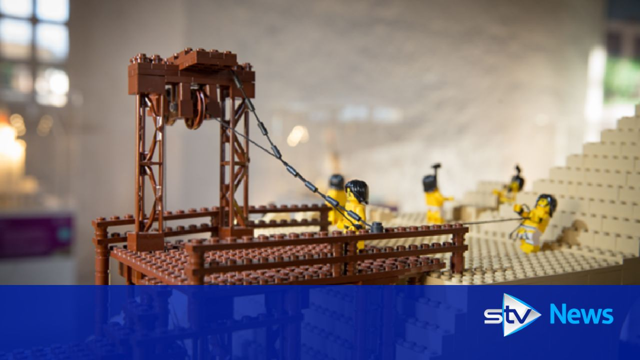 Lego wonders of the world exhibition opens in Glasgow