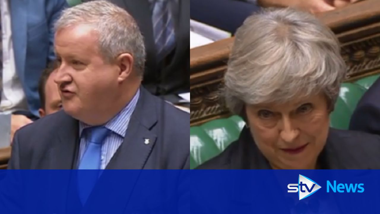 PM's Brexit deal is dead in the water, says Blackford