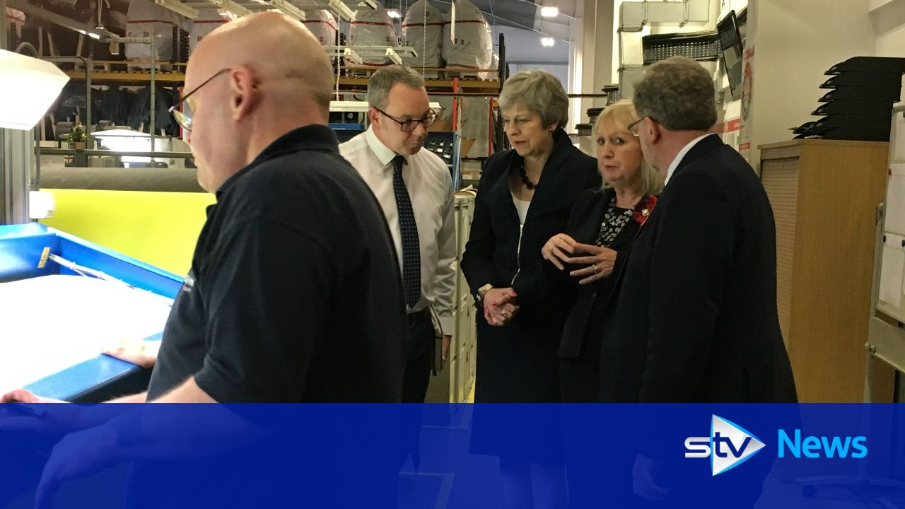 STV presses Theresa May on economic impact of Brexit