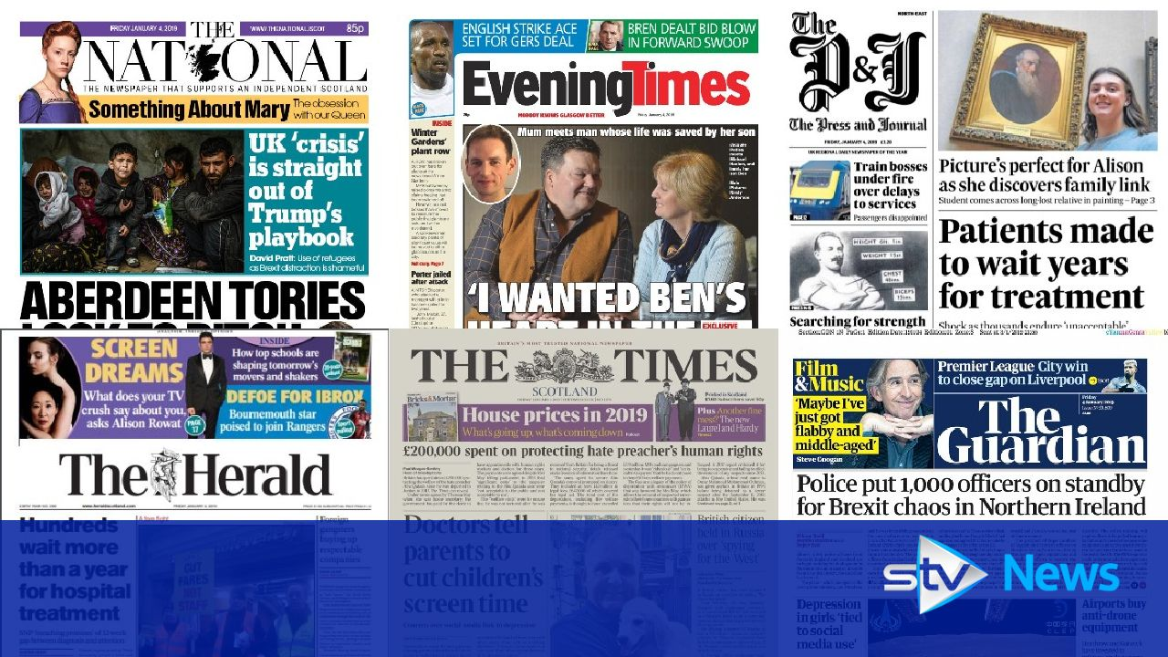 News stand: Year-long wait for patients, ScotRail fare row