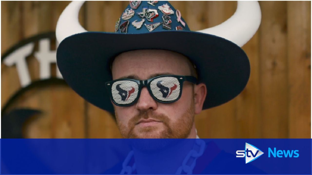 Kilted Texan: Super Bowl trip for Scots superfan Graham