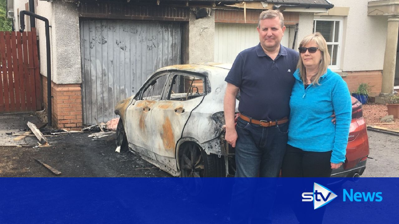 Family's terror as house and car petrol bombed as they slept