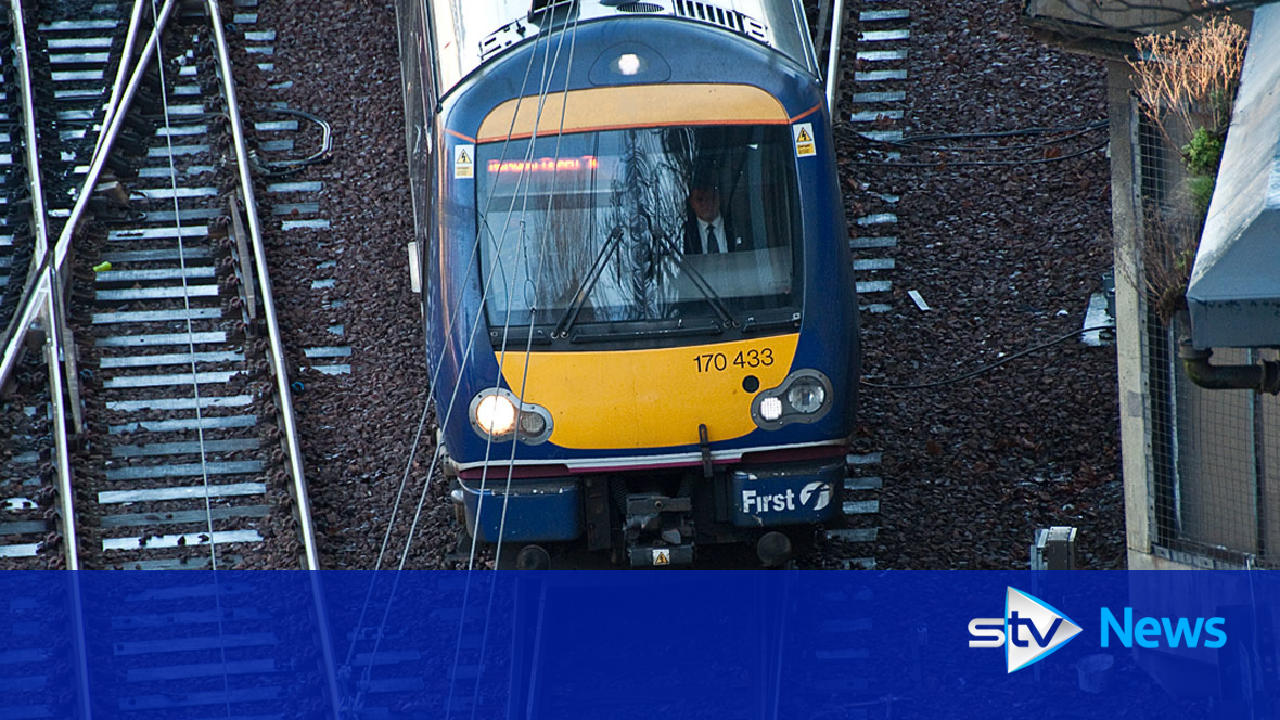 Rail disruption as work on main Glasgow to Edinburgh line begins