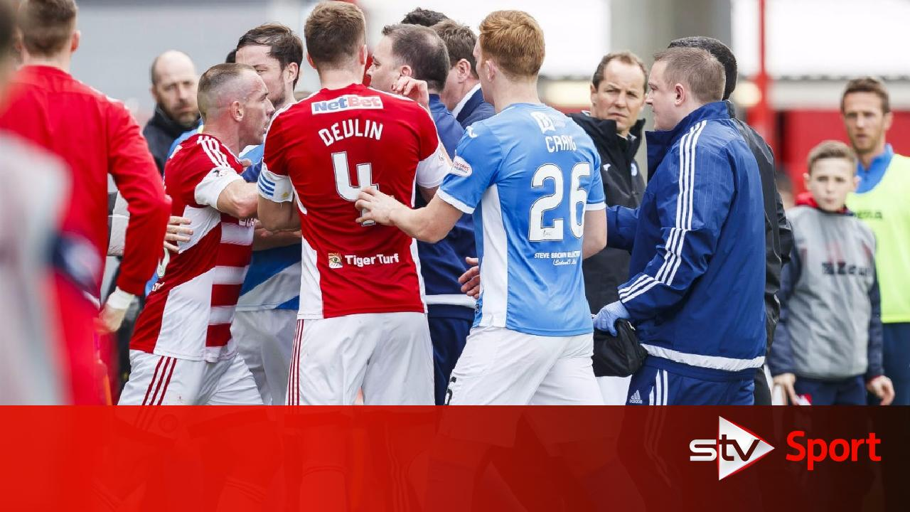 St johnstone hit players with maximum fine over brawl for A t the salon johnstone