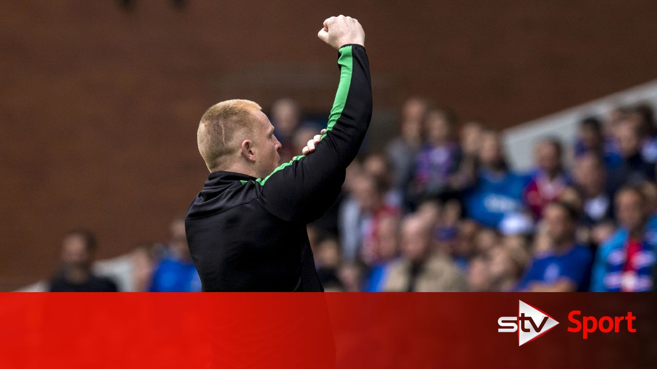 rangers fans u0026 39  statement was laughable says neil lennon