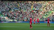 Flags: Celtic fans show support for Palestine during match against Israeli team.