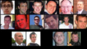 Remembered: The victims of the Super Puma crash two years ago DO NOT USE