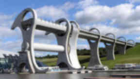 Falkirk Wheel: Connects the Forth and Clyde Canal with the Union Canal.