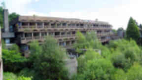 Arts plan: The former St Peter's seminary in Cardross.