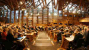 Holyrood debate: Opposition parties defeat government.