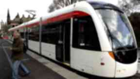 Edinburgh trams: Council voted on the plan.